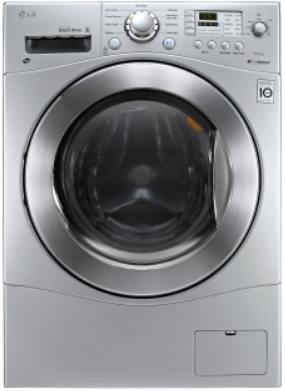 LG All In One Washer/Dryer Combo - Silver-WM3477HS