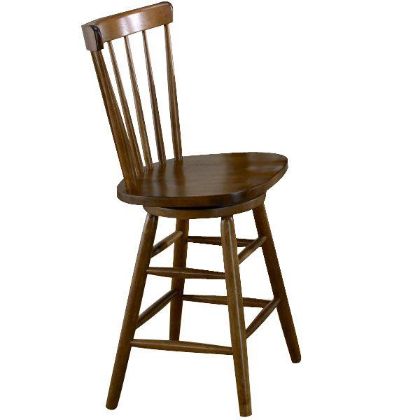 "Liberty Furniture Creations II Tobacco Copenhagen 24"" Barstool-38-B1724"