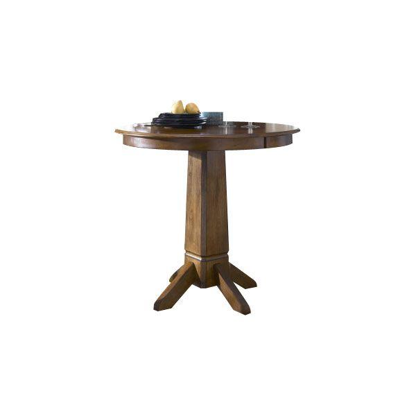 Liberty Furniture CreationsTobacco Pub Table-38-PUB3636/PUB3636B