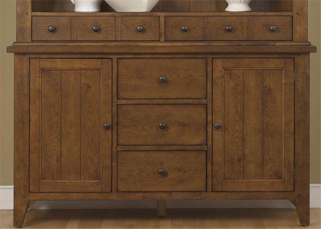 Liberty Furniture Hearthstone Rustic Oak Buffet-382-CB6183
