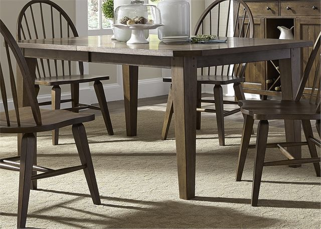 Liberty Furniture Hearthstone Rustic Oak Table-382-T4408