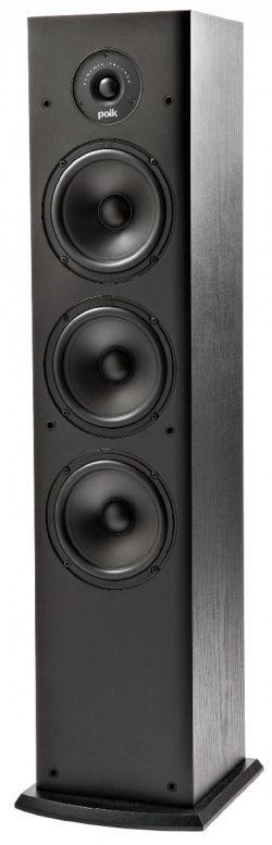 "Polk Audio® T50 Black 6.5"" Floor Standing Speaker-AM7050"
