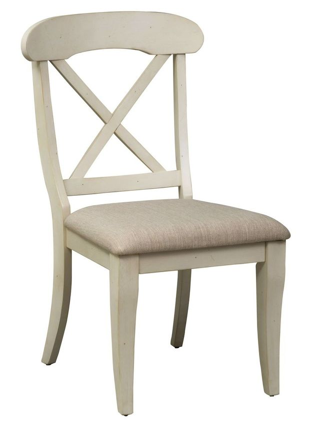 Liberty Furniture Ocean Isle Antique White Side Chair-303-C3001S