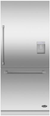 DCS 16.8 Cu. Ft. Bottom Freezer Refrigerator-Panel Ready-RS36W80RUC1