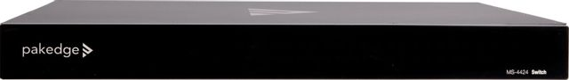 SnapAV Pakedge® MS Series Black Layer 3 Managed Switch with OvrC-MS-4424