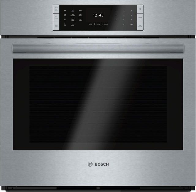 """Bosch Benchmark® Series 29.75"""" Stainless Steel Electric Single Oven Built In-HBLP451UC"""