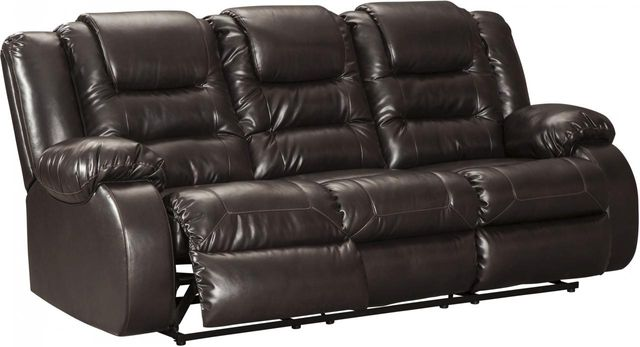 Signature Design by Ashley® Vacherie Chocolate Reclining Sofa-7930788