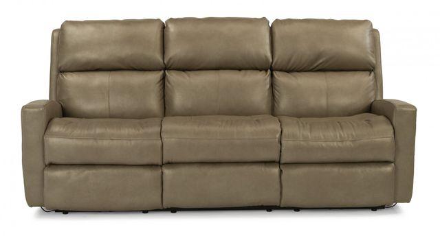 Flexsteel® Catalina Leather Power Reclining Sofa-3900-62M