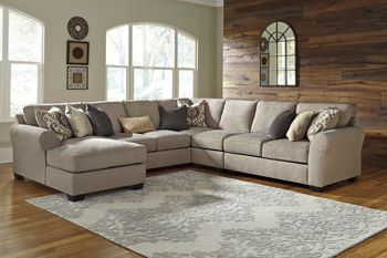 Signature Design by Ashley® Pantomine Armless Loveseat-Driftwood-3910234