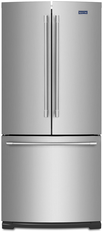 Maytag® 19.68 Cu. Ft. Fingerprint Resistant Stainless Steel French Door Refrigerator-MFF2055FRZ