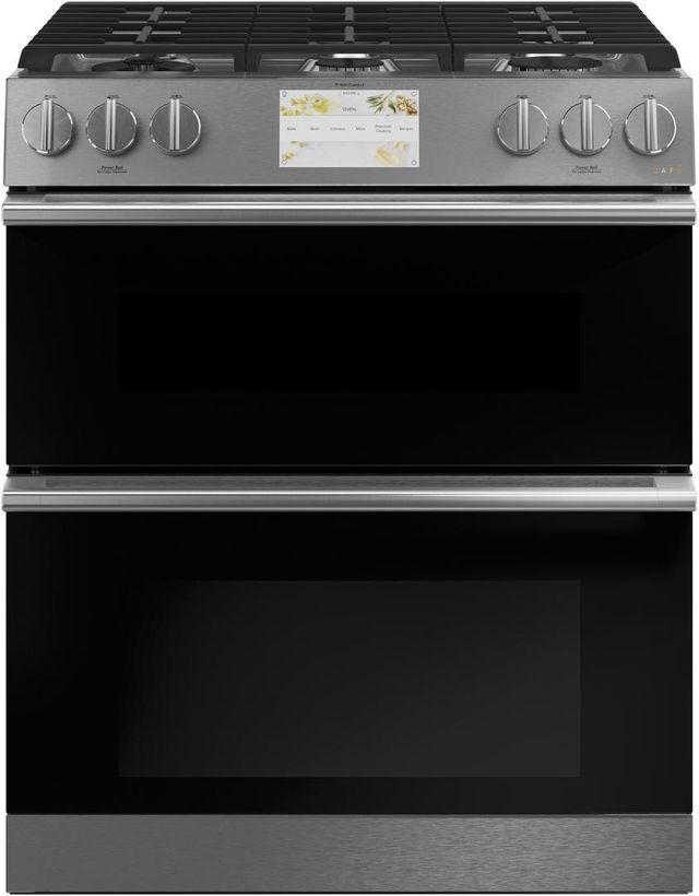 "Café™ 30"" Platinum Slide In Dual Fuel Range-C2S950M2NS5"