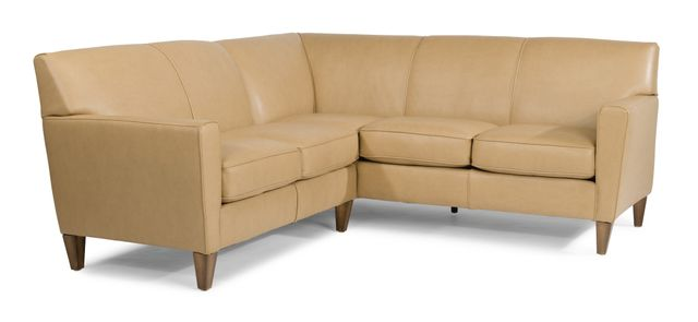 Flexsteel® Digby Leather Sectional-3966-SECT