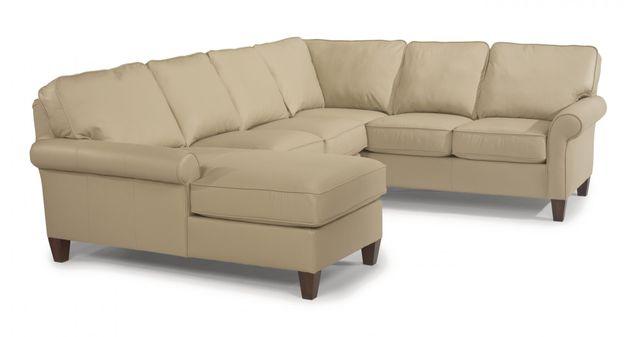 Flexsteel® Westside Leather Sectional-3979-SECT