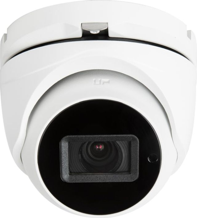 SnapAV Luma Surveillance™ 710 Series White Turret Analog Camera with Heater-LUM-710-TUR-AH-WH