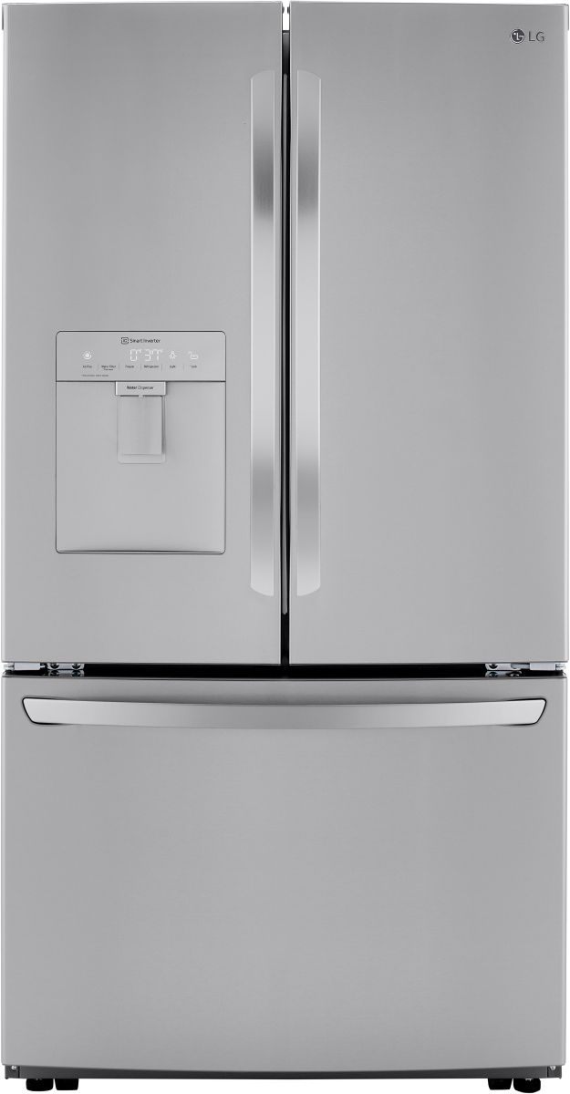 LG 29 Cu. Ft. PrintProof™ Stainless Steel Smart Wi-Fi Enabled French Door Refrigerator-LRFWS2906S