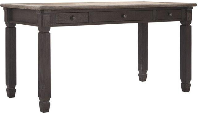 "Signature Design by Ashley® Tyler Creek Grayish Brown/Black 60"" Home Office Desk-H736-44"