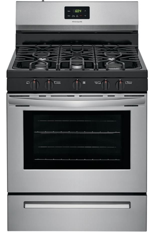"""Frigidaire® 30"""" Stainless Steel Free Standing Gas Range-FCRG3052AS"""