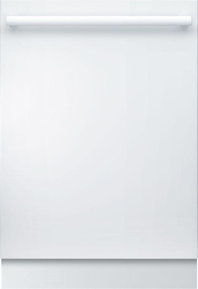 """Bosch 800 Series 24"""" White Built In Dishwasher-SHXM78Z52N"""