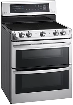 LG 7.3 cu. ft. Stainless Steel Free Standing Electric Range-LDE5415ST