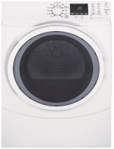 Crosley® 7.5 Cu. Ft. White Front Load Gas Dryer-YFD45GSSMWW