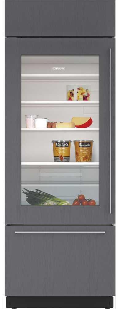 Sub-Zero® 17.3 Cu. Ft. Built In Refrigerator-Overlay-BI-30UA/O-RH