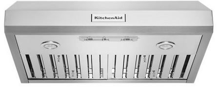 "KitchenAid® 30"" Stainless Steel Under Cabinet Range Hood-KVUC600JSS"