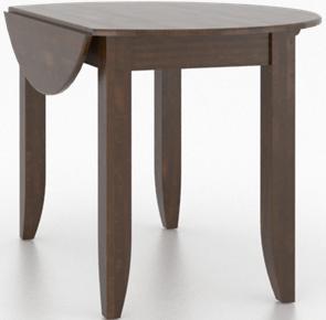 Table en bois ronde Core, brun, Canadel®-TDL042421919MNADF