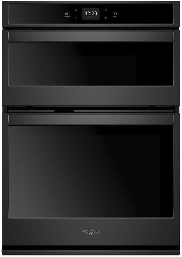 "Whirlpool® 27"" Black Smart Combination Wall Oven-WOC54EC7HB"