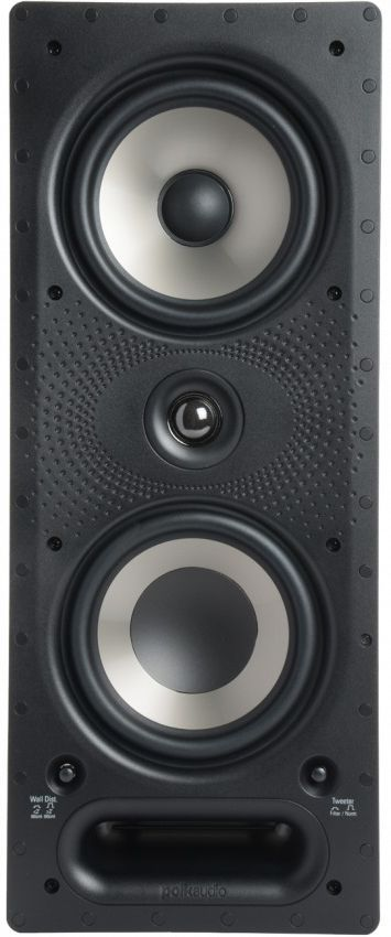 "Polk Audio® Vanishing RT Series 265-RT White 6.5"" In-Wall Loudspeaker-AW6265"