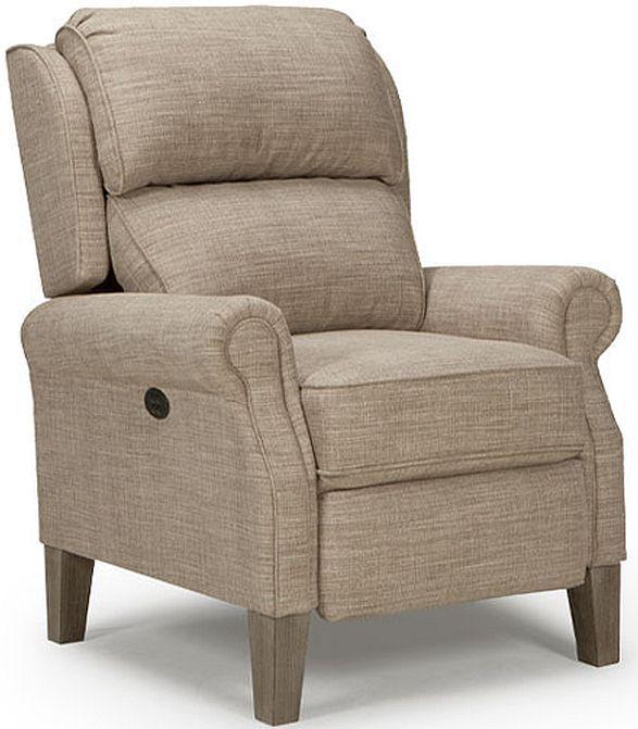 Best Home Furnishings® Joanna Riverloom High Leg Recliner-0L20R