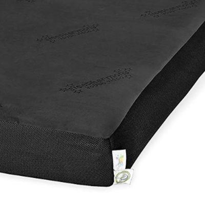 Glideaway® Sleepharmony® Jubilee Youth Black Memory Foam Mattress-Twin-MAT-25YVMBLK-T