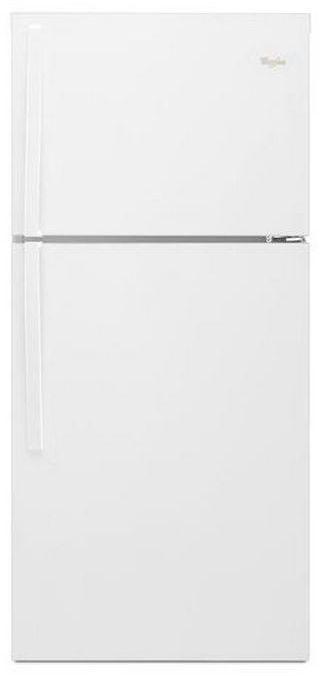 Whirlpool® 19.2 Cu. Ft. Top Freezer Refrigerator-White-WRT549SZDW