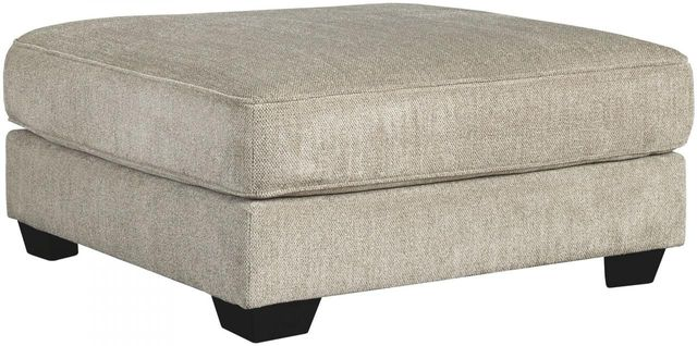 Benchcraft® Ardsley Pewter Oversized Accent Ottoman-3950408