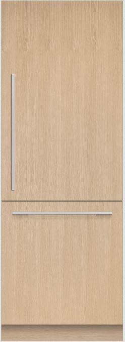Réfrigérateur à congélateur inférieur de 30 po Fisher Paykel® de 15,9 pi³ - Solide intégré-RS3084WRU1