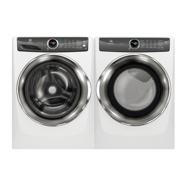 Electrolux Island White Laundry Pair-ELLAUEFMG527UIW