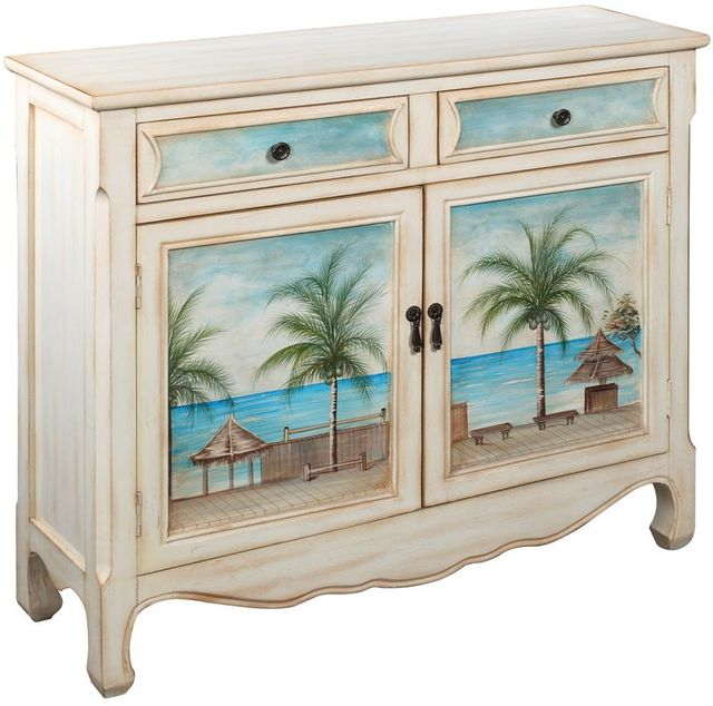 Coast to Coast Imports™ Key Largo Seaview Cupboard-14124