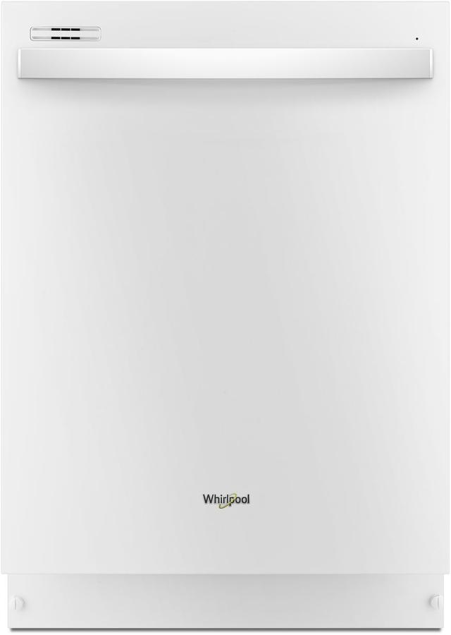 "Whirlpool® 24"" Built In Dishwasher-White-WDT710PAHW"