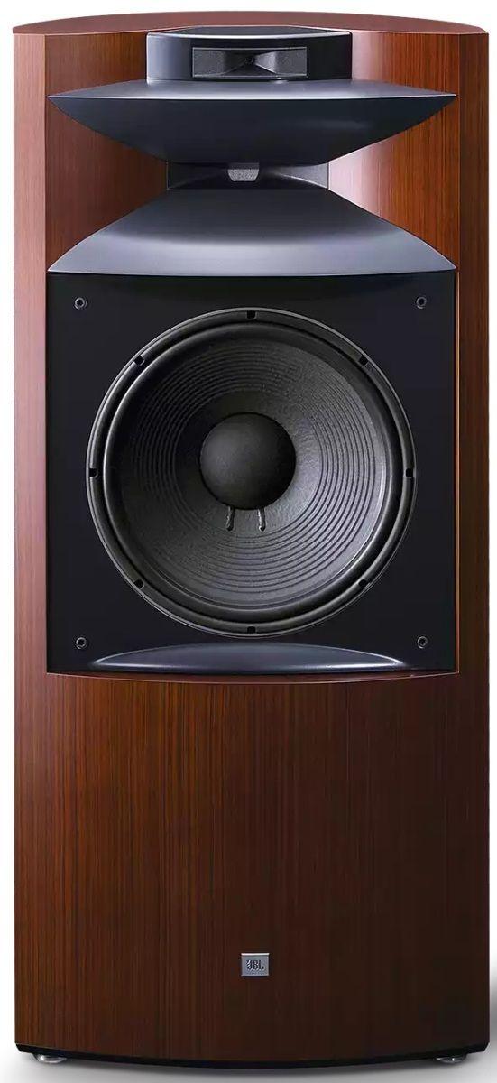"""JBL Synthesis® Project K2 S9900 Zebra Wood 15"""" 3-Way Floor Standing Loudspeaker-NK2S9900ZW"""