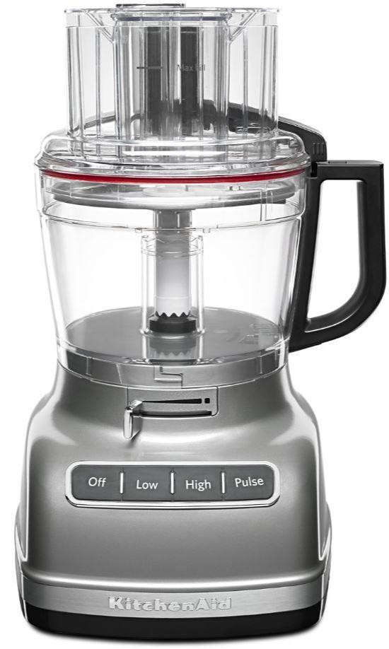 KitchenAid® Contour Silver 11-Cup Food Processor-KFP1133CU