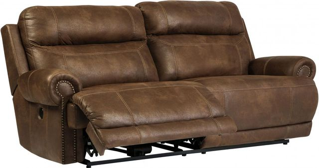 Signature Design by Ashley® Austere Brown 2 Seat Reclining Power Sofa-3840047