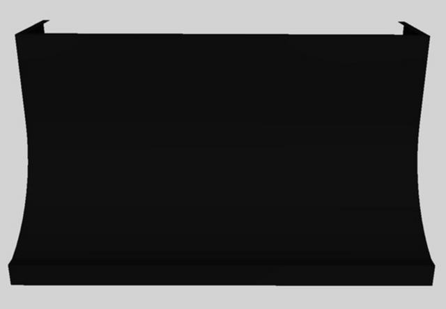 "Vent-A-Hood® 54"" Wall Mounted Range Hood-Black-DAH30-354 BL"