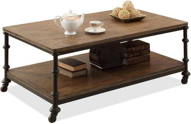 Riverside Furniture Camden Town Rectangular Coffee Table-23702