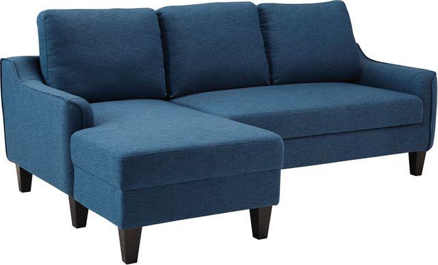 Signature Design by Ashley® Jarreau Blue Queen Sofa Chaise Sleeper-1150371