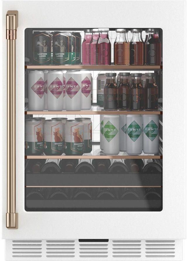 Café™ 5.1 Cu. Ft. Matte White Beverage Center-CCP06BP4PW2