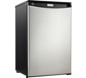 Danby® Designer® 4.4 Cu. Ft. Black Stainless Steel Compact Refrigerator-DAR044A4BSSDD