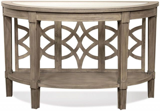 Riverside Furniture Parkdale Demilune Sofa Table-15514