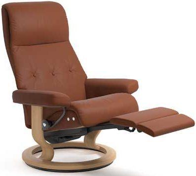 Stressless® by Ekornes® Sky Medium Leg Comfort Recliner-1332715