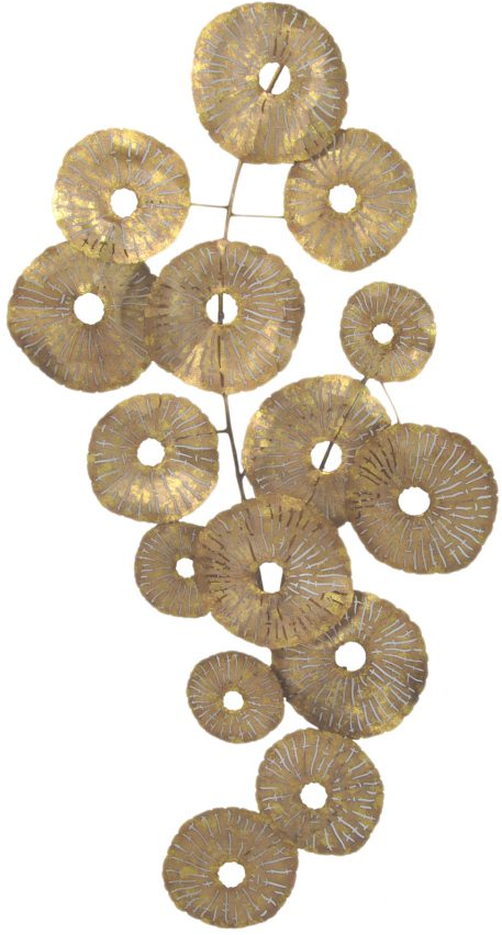 Moe's Home Collections Gold Small Circles Wall Decor-MH-1063-32