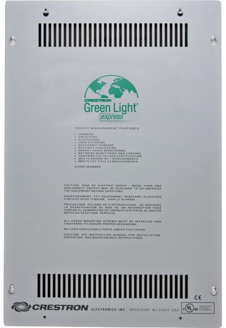 Crestron® Green Light Express® Dimming and Switching Panels-GLPX