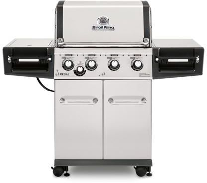 """Broil King® Regal™ S440 PRO Series 24.8"""" Stainless Steel Freestanding Grill-956327"""